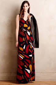 maeve clothing lyst maeve chava maxi dress in