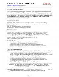 Sample Dba Resume by Oracle Dba Resume Format For Freshers Resume For Your Job