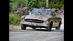 mercedes rally mercedes benz 280 sl