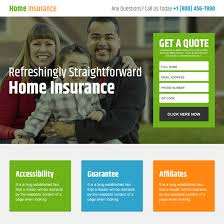 free online home page design home insurance free quote lead capturing landing page design