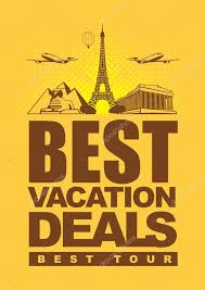 best vacation deals stock vector paseven 24526263