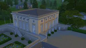 Petit Trianon Floor Plan by Le Petit Trianon Sims 4 Studio