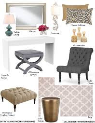 interior design my online design clients betbout concept board