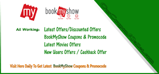 bookmyshow movies discount offers coupons and wallet offers 20