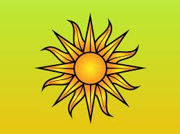 sun vector