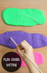play dough writing tray fantastic fun u0026 learning