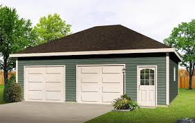 Hip Roof Images by Hip Roof Drive Thru Garage 22052sl Architectural Designs