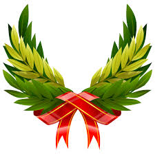 leaf ribbon ribbon leaves wings vector free vector graphic