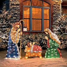 best 25 outdoor nativity sets ideas on nativity