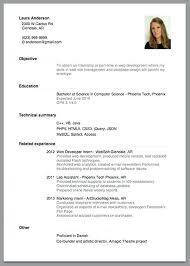 Graduate Application Resume Resume Application Sample Samples Of Resume For Job Application