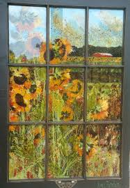 painted window pane idea for the kiddos