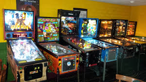 current location pinball and video arcade games at american