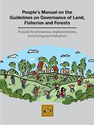 people u0027s manual on the guidelines on the governance of land