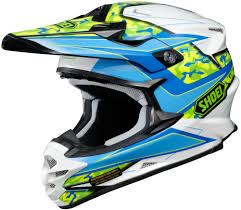 helmets for motocross shoei vfx w turmoil dirt bike riding dot motocross helmets ebay
