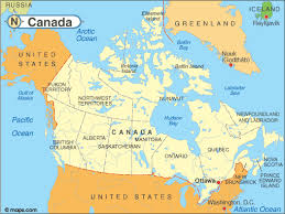 map if canada map of canada