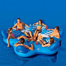 canap gonflable piscine canapé flottant pool 6up lounge sportsstuff vidéos