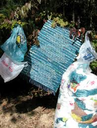 Outdoor Rugs Made From Recycled Plastic by Plastic Bag Rugs