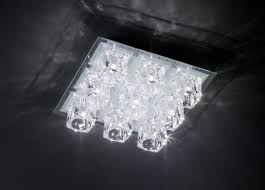 Wohnzimmerlampe Led Farbwechsel Deckenleuchte Farbwechsel Led Halogen Lampe Glas Leuchte