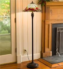 Stained Glass Floor Lamp Chesterfield Tiffany Style Stained Glass Floor Lamp Lamps U0026 Lighting