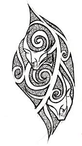 25 tribal gemini tattoos designs and ideas