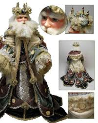 katherine s collection halloween details about snow queen santa doll 32