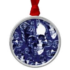 broken skull ornaments keepsake ornaments zazzle