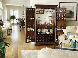 Large Bar Cabinet Clockway Howard Miller Sonoma Deluxe Americana Cherry Exceptional