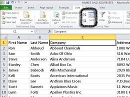 how to sort excel 2010 data on a single column dummies