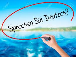 si e banque de writing sprechen sie in german do you speak