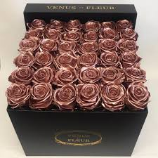 gold roses metallic collection venus et fleur
