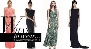 what to wear for a wedding the glamor in dresses to wear to a summer wedding pictures ideas
