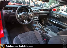 mustang 2015 inside getting to business does the inside of the 2015 mustang hold