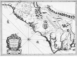 1676 map of carolina