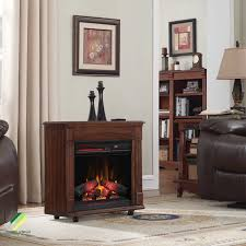 cherry wood electric fireplace mantel infrared heater smokeless