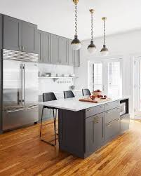 Kitchens With White Cabinets And Black Countertops by 25 Best Gray Island Ideas On Pinterest Grey Cabinets Grey