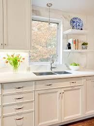 white kitchen cabinets countertop ideas white countertop and backsplash houzz