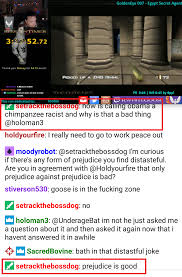 rwhitegoose mods call black people chimps just another day in