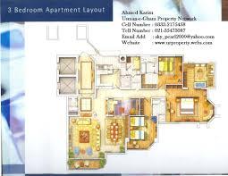 Network Floor Plan Layout 3d Apartment Floor Plan Design Rendered Plans Friv Games Rendering