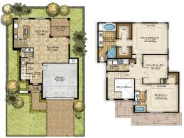two storey residential floor plan pictures of 2 storey modern minimalist house plan 4 home ideas