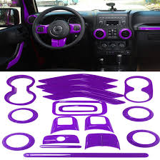 jeep purple 2017 purple interior decoration trim kit for jeep wrangler jk jku 2011
