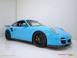 2010 light blue paint to sample porsche 911 turbo coupe 28659195