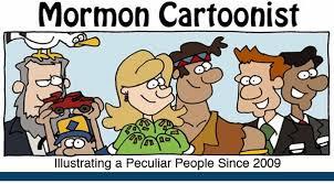 mormon cartoonist family home evening activity
