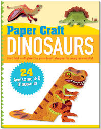 paper craft dinosaurs papertoy models origami mary beth cryan