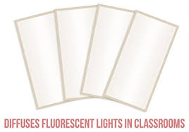 fluorescent light filters for classrooms fluorescent light covers cozy shades softening light filter for