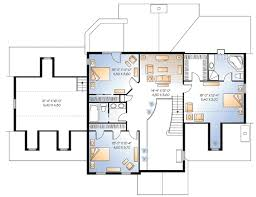 inlaw suite possible in suite 2173dr architectural designs house plans