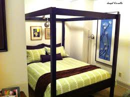 elegant and cheap selfmade canopy bed ikea hackers fancy ikea