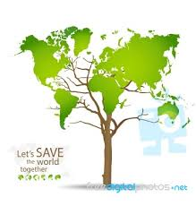 world map stock image tree shaped world map stock image royalty free image id 100213733