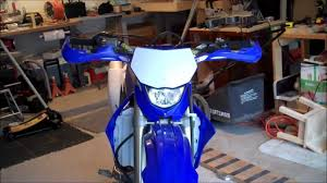 installing handguards on 2008 yamaha wr250f youtube