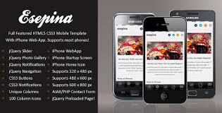 28 mobile website themes amp templates free amp premium free
