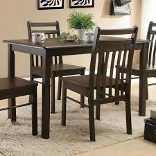 acme furniture serra ii dining table in cappuccino local